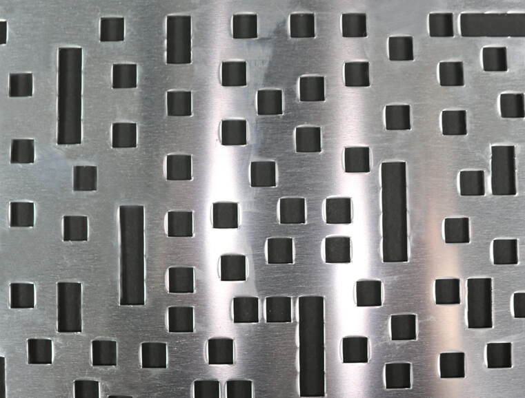 green perforated metal pattern - photo #34