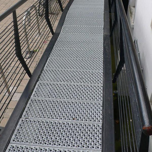 Perforated Metal Walkway Graepel Perforators