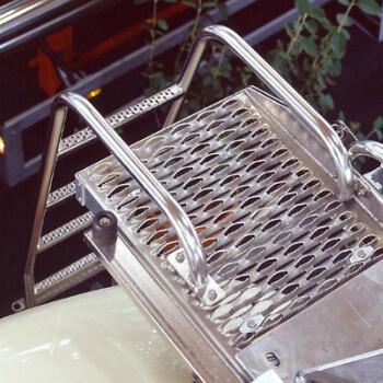 Graepels Industrial Anti-Slip Ladder Rungs
