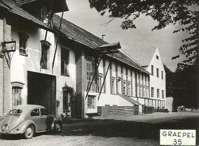 Foundation of the Friedrich Graepel GmbH, now Friedrich Graepel AG in 1948