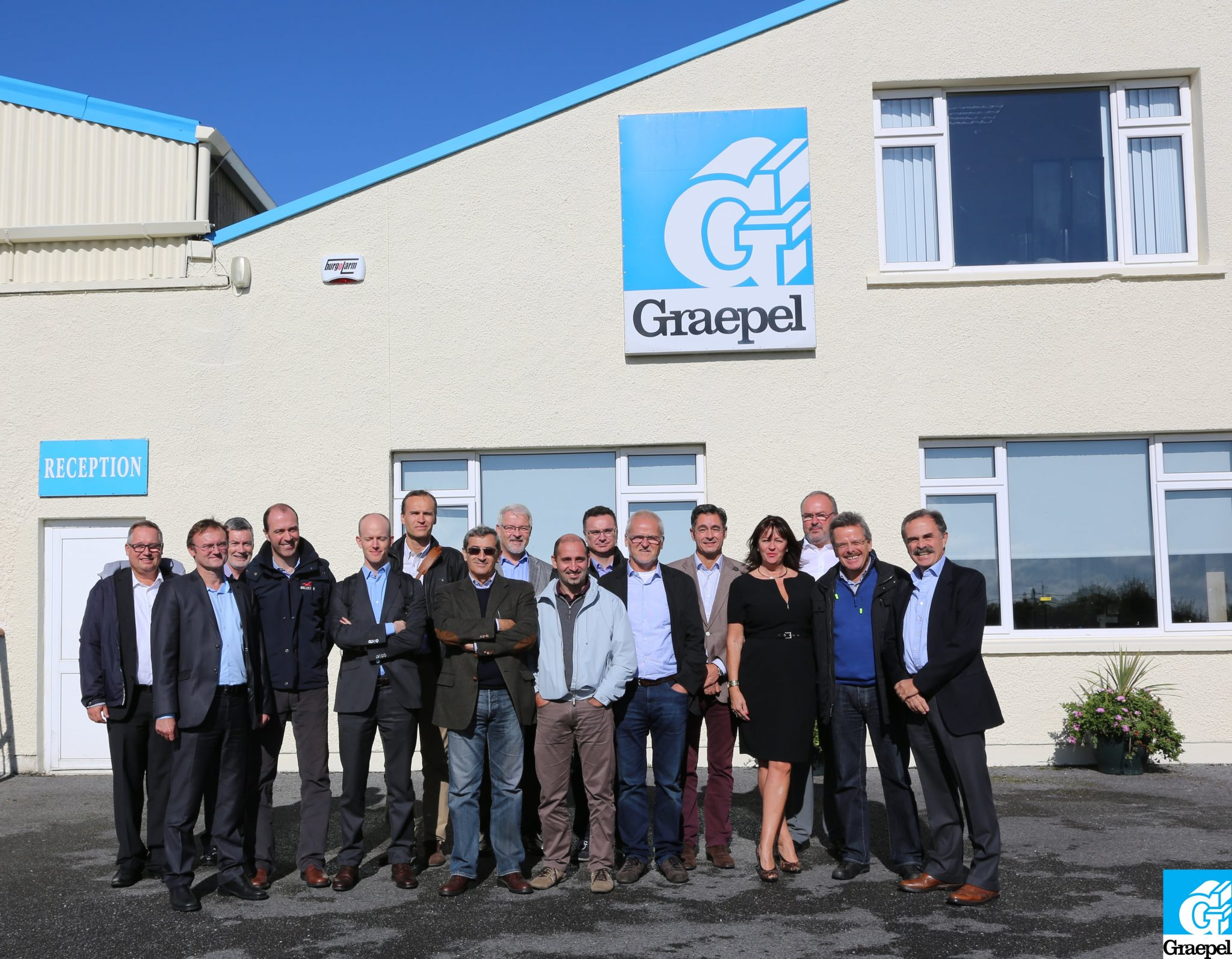 Europerf Comes To Graepel Kinsale Graepel Perforators