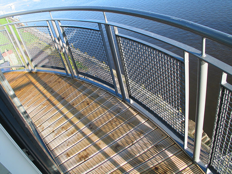 Balustrade Infill, woven wire