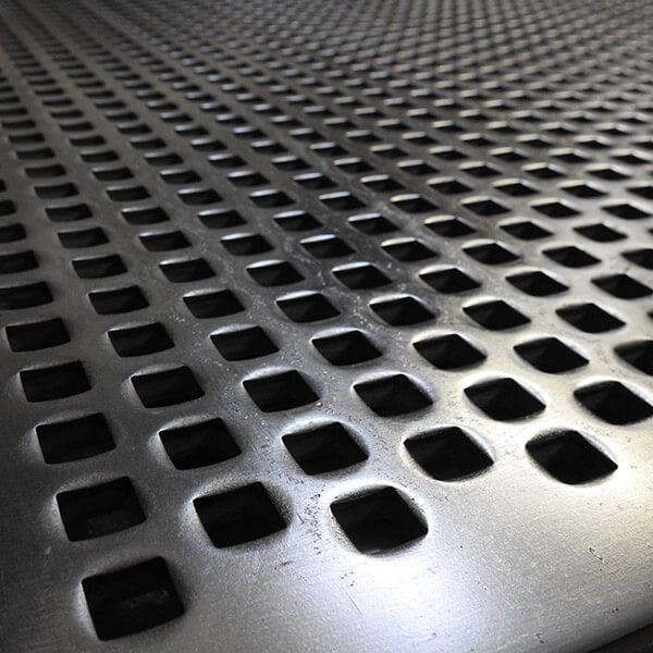 Punch Plate Square perforations