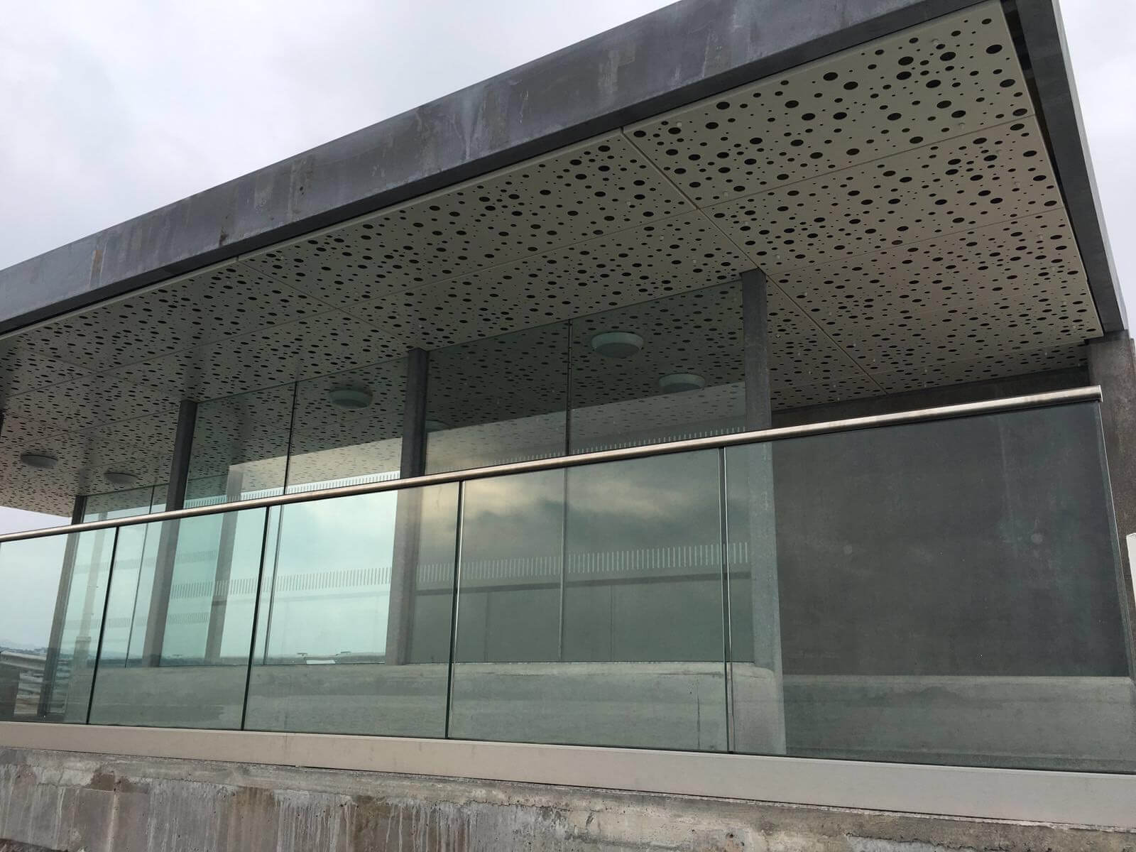 Architectural Metal Panels Ceiling : Premium perforations in architecture graepel perforators