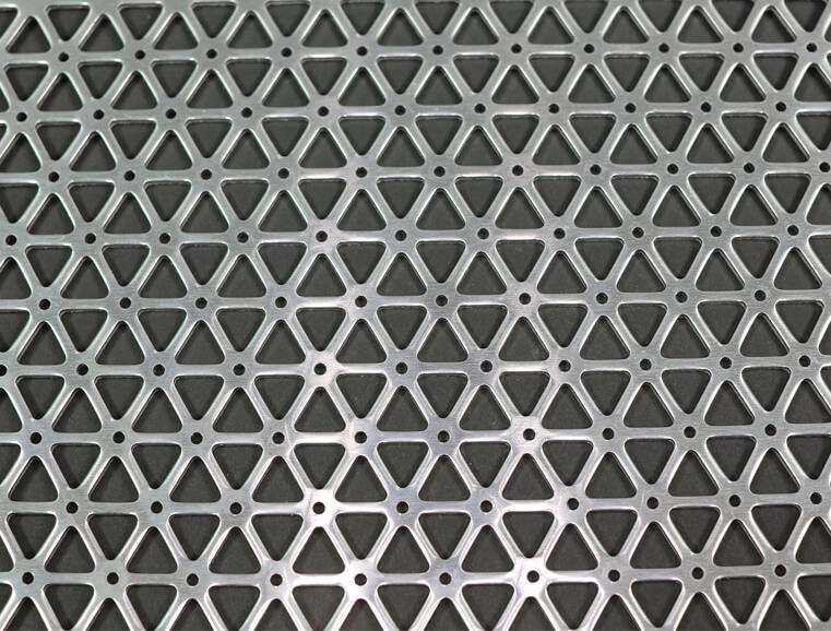 Perforated Aluminium Sheets Graepel Perforators