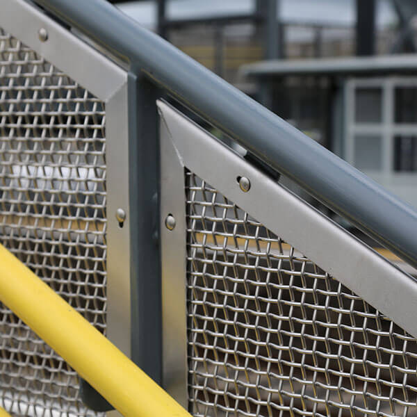 Perforated Metal Balustrade Infills Graepel Perforators