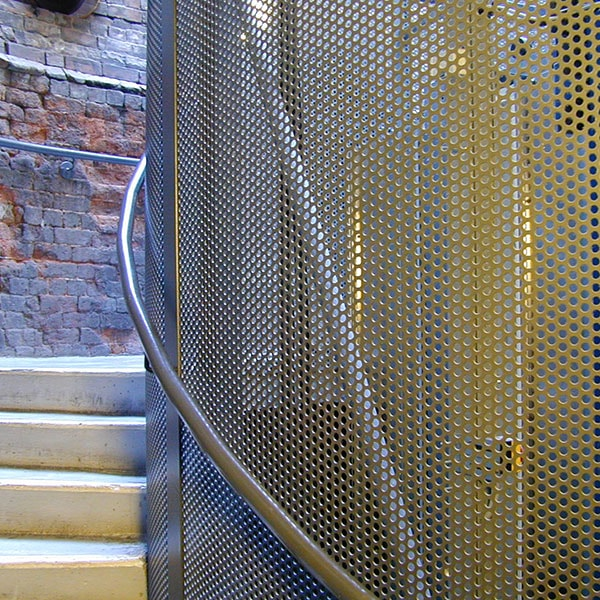 Perforated Balustrade Infill Graepels