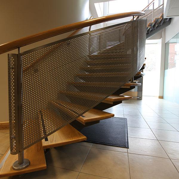 Perforated Metal Balustrade Infills Graepel Perforators