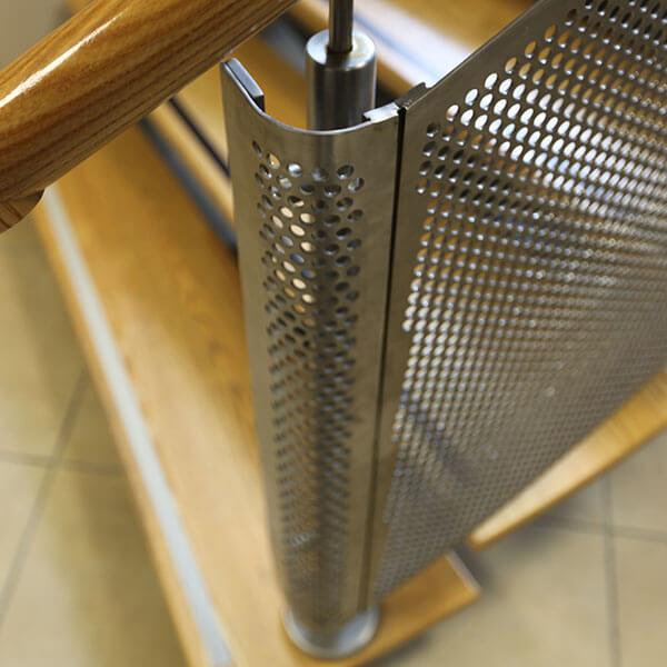 Perforated Metal Balustrade infill