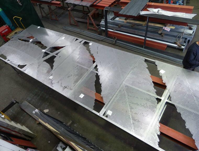 Metal Perforated Design