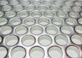Perforated Galvanized Metal