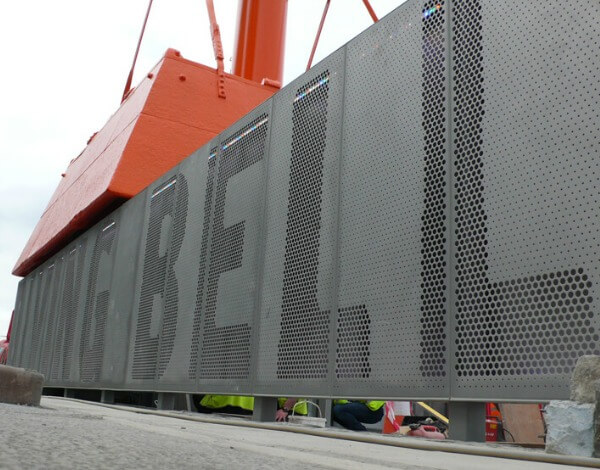 Dublin's Diving Bell | Perforated Metal