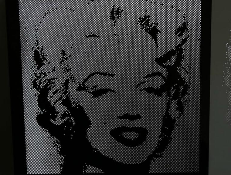 Aluminium Perforated, Marilyn Monroe