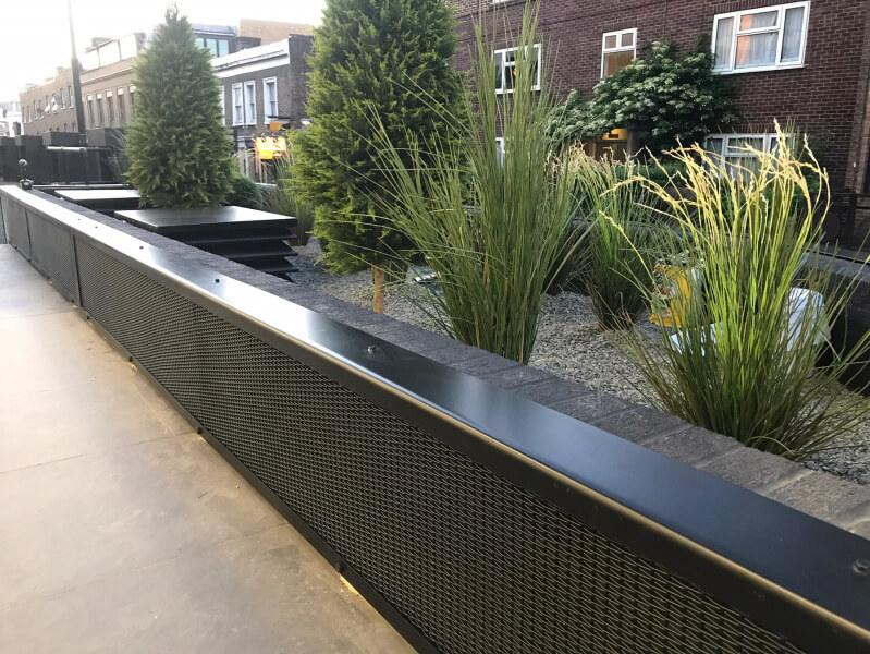 Woven Mesh Infill Panels | London, UK