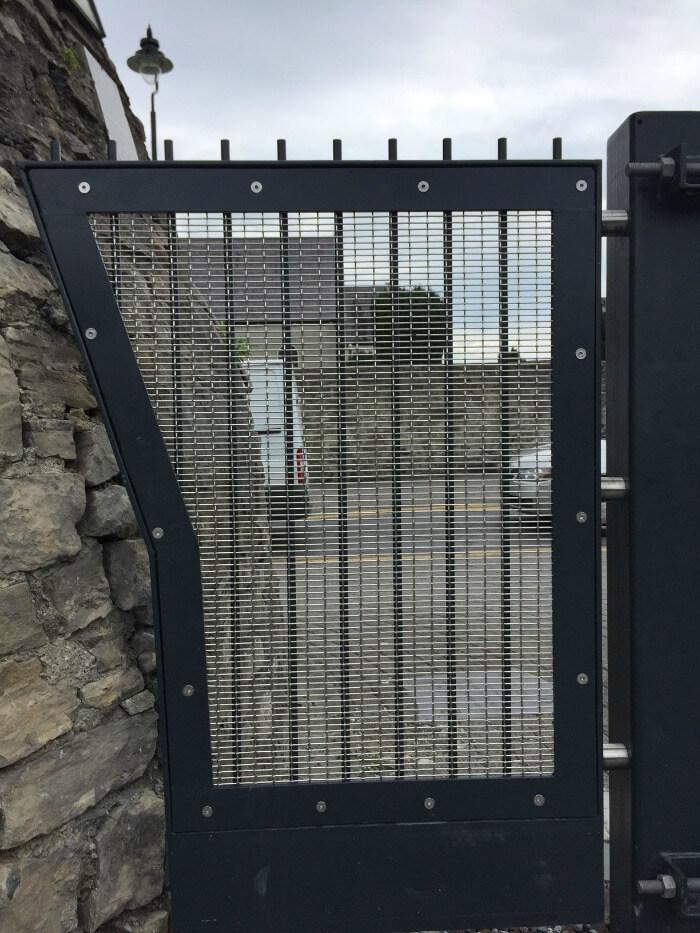 Woven Wire Mesh Gates Home