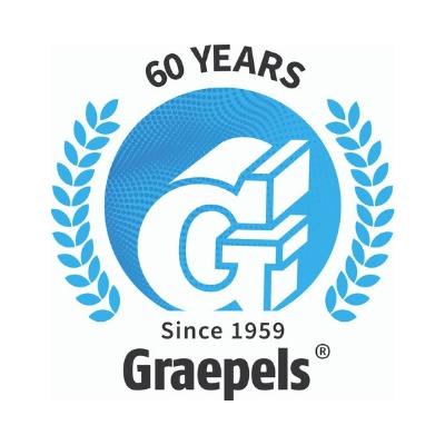 Graepels Latest News, 60th Anniversary Logo, Corporate Anniversary