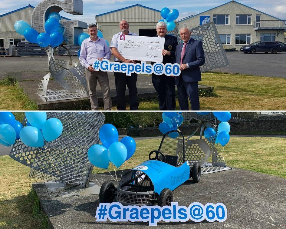 Graepels at 60 Sponsorship