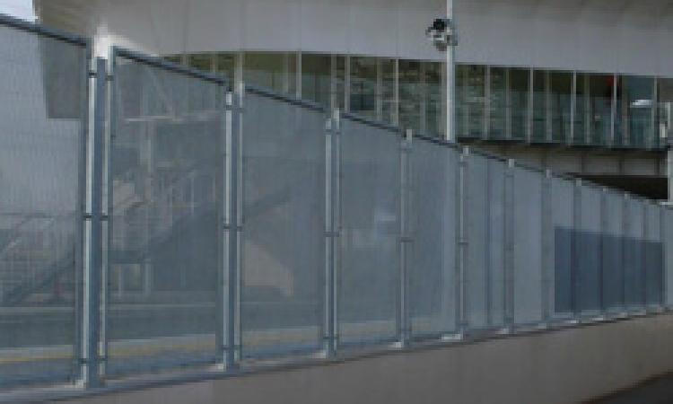 Perforated Metal Fencing