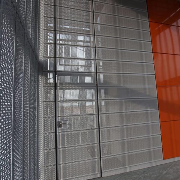 Perforated Metal Curtain Wall Graepel Perforators
