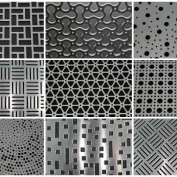 Decorative Metal Perforations