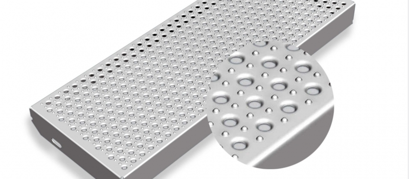 Metal stairs and non-slip stair treads | Graepel Perforators