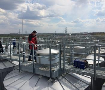access platform, steel platform